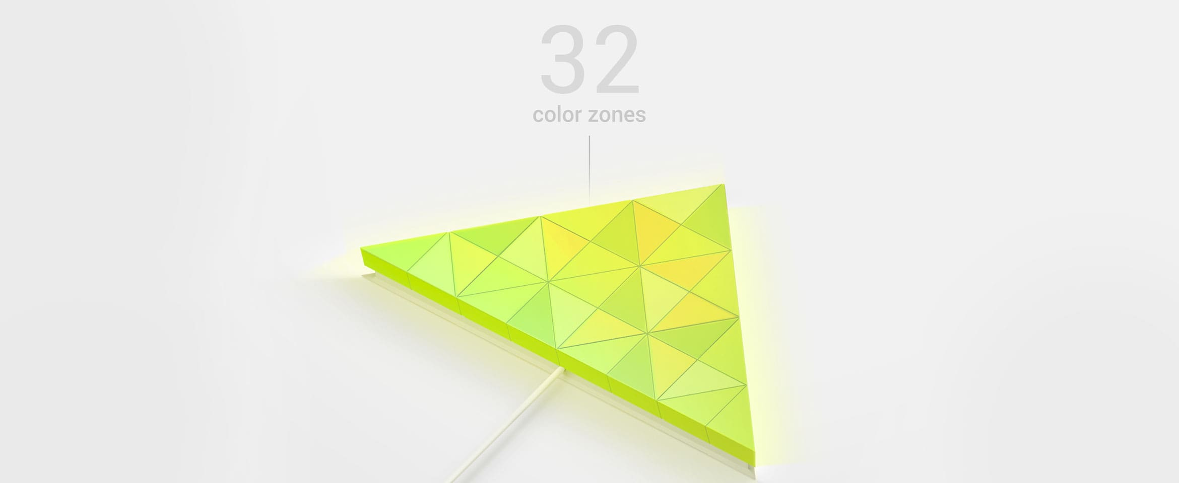 LaMetric SKY smart light surface with 32 color zones